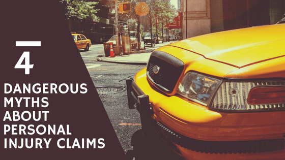 personal injury claim myths