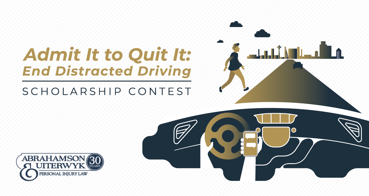 Admit it to Quit It: End Distracted Driving Scholarship Contest