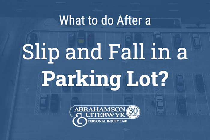slip and fall in parking lot