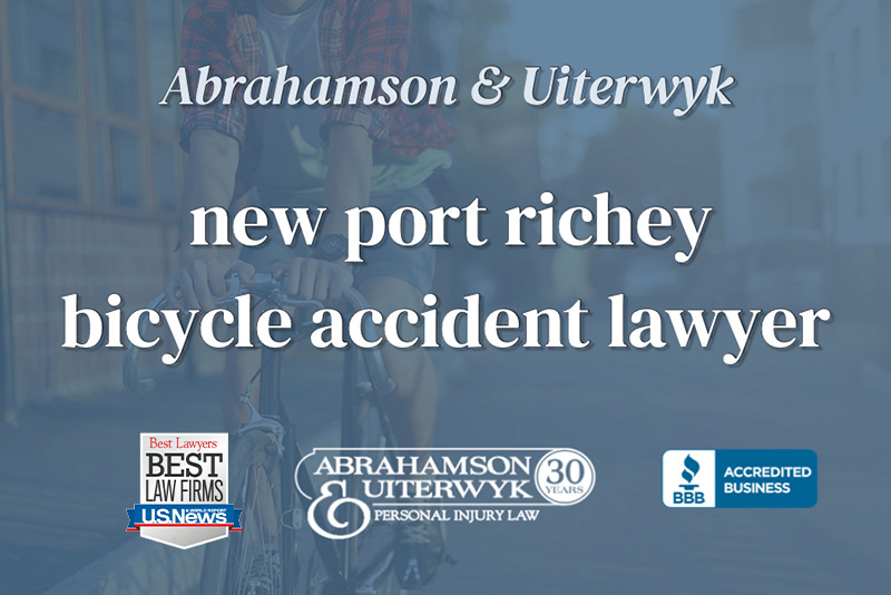 new port richey bicycle lawyer