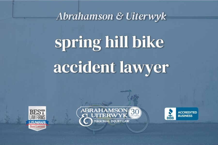 Spring Hill Bicycle Accident Lawyer
